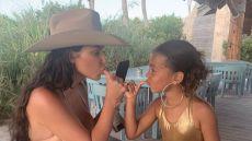 Kim Kardashian receives backlash for North West wearing big hoop earrings
