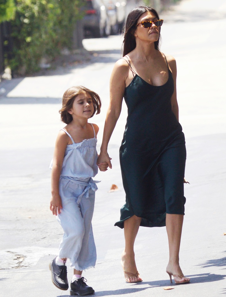 kourtney kardashian and penelope disick out and about in los angeles.jpg