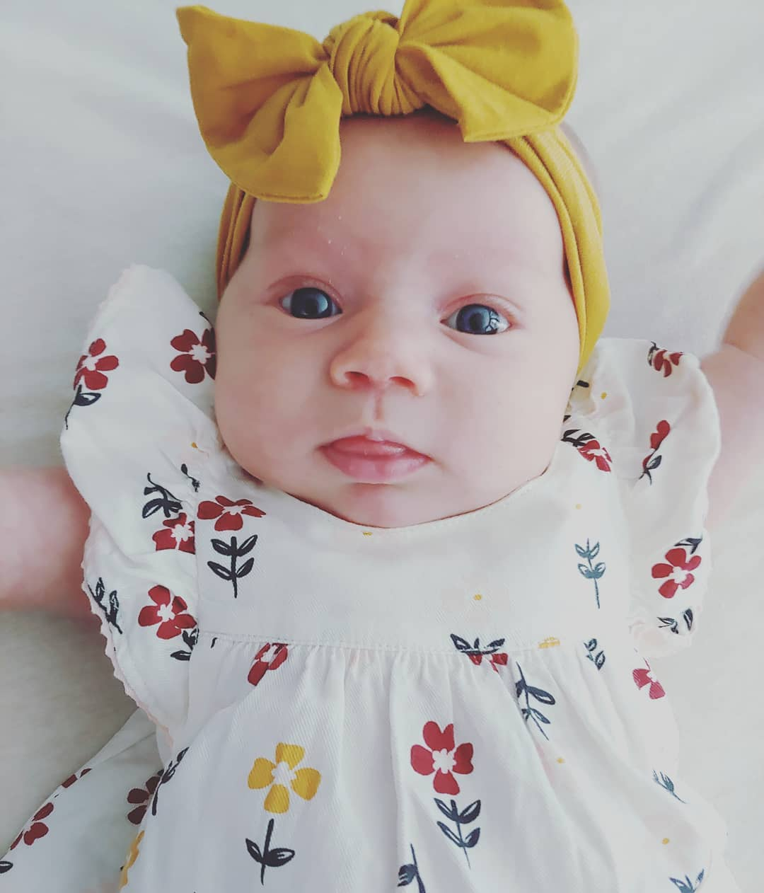 maddie brown's daughter evie closeup