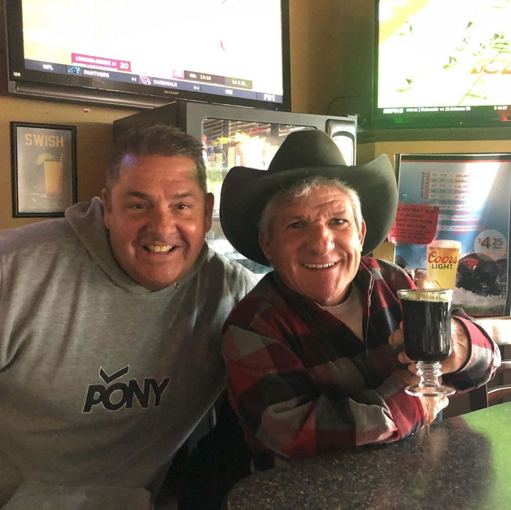 matt roloff and friend ty smiling for photo