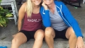 teen mom og star mackenzie mckee sits on the front step of her home and poses for a photo with her mom angie teen mom og mackenzie mckee says mom angie and dad brad are goals