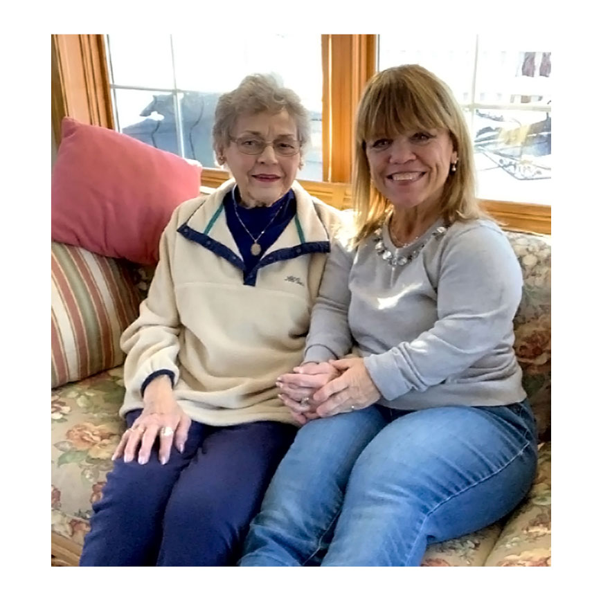 Amy Roloff With Mother
