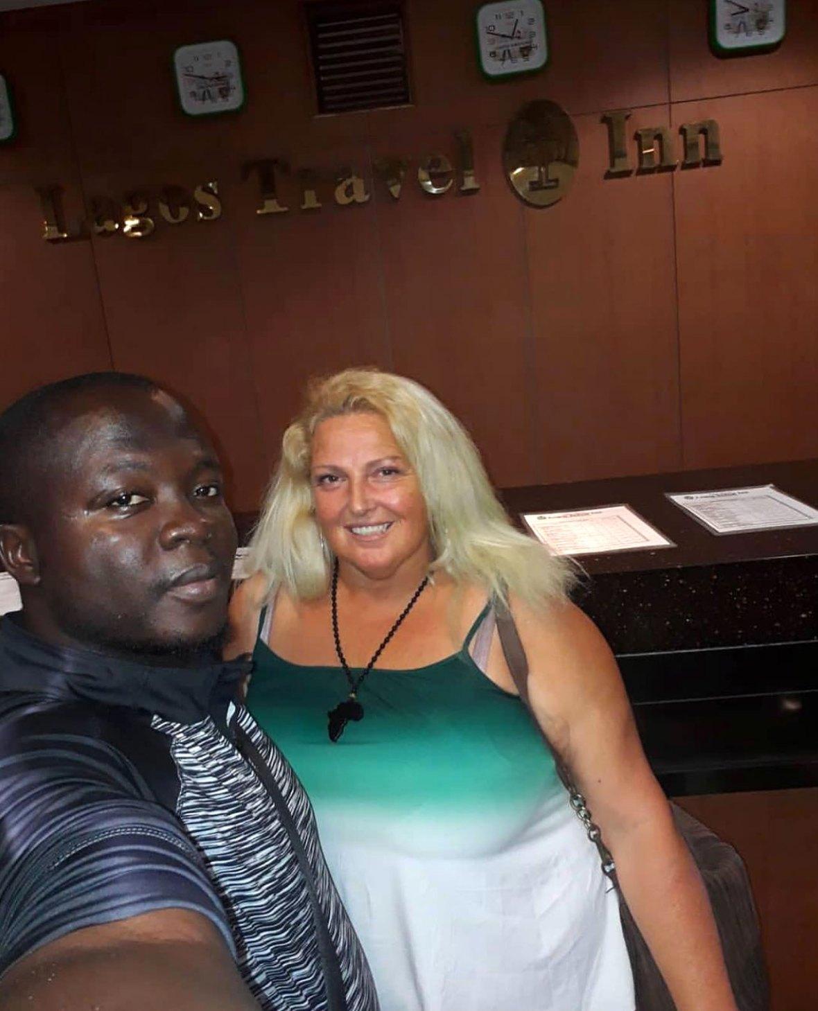 Angela Deem and Michael Ilesanmi Instagram 90 DF