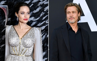 Angelina Jolie Maleficent: Mistress of Evil and Brad Pitt Ad Astra