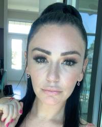 JWoww Showing Off Her Freckles