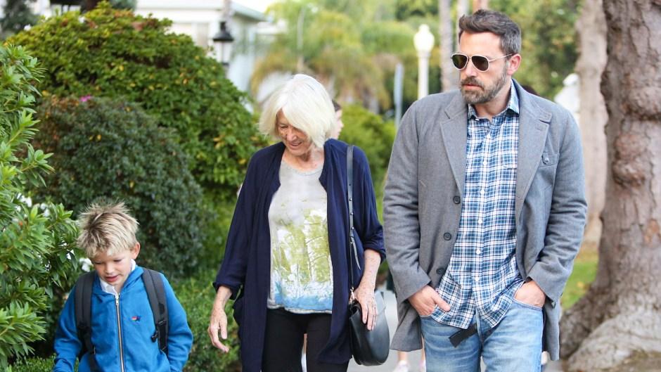 Ben Affleck out his mother son Samuel