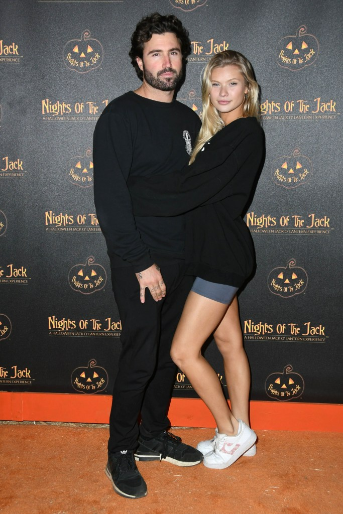 Josie Canseco Wearing a Black Top With Brody Jenner at an Event in LA