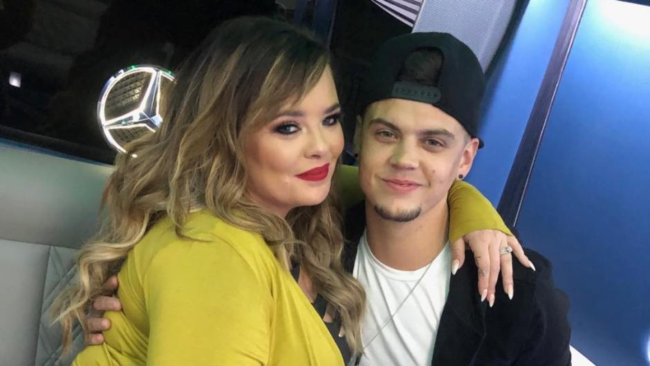 Catelynn Lowell and Tyler Baltierra Cuddle Up