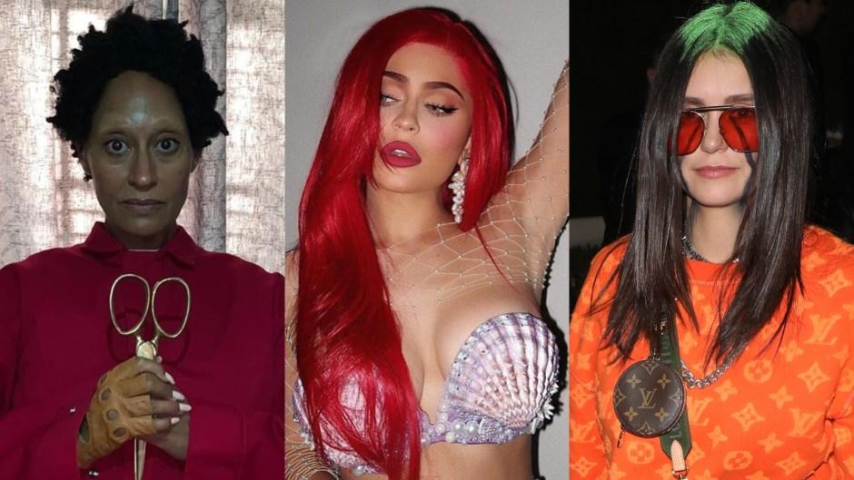 Celebrity Halloween Costumes 2019, Tracee Ellis Ross, Kylie Jenner and Nina Dobrev