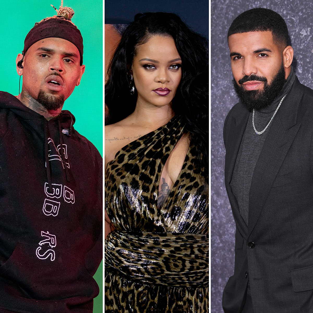 Chris Brown And Rihanna Avoid Each Other At Drake S Birthday Party