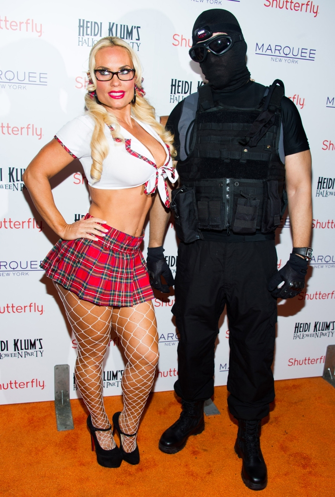Coco Austin Ice-T Don't Coordinate Halloween Costumes