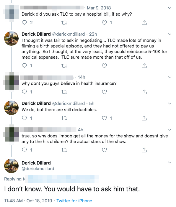 Derick Dillard Fuels Jim Bob Duggar Feud Rumors Cryptic Tweets