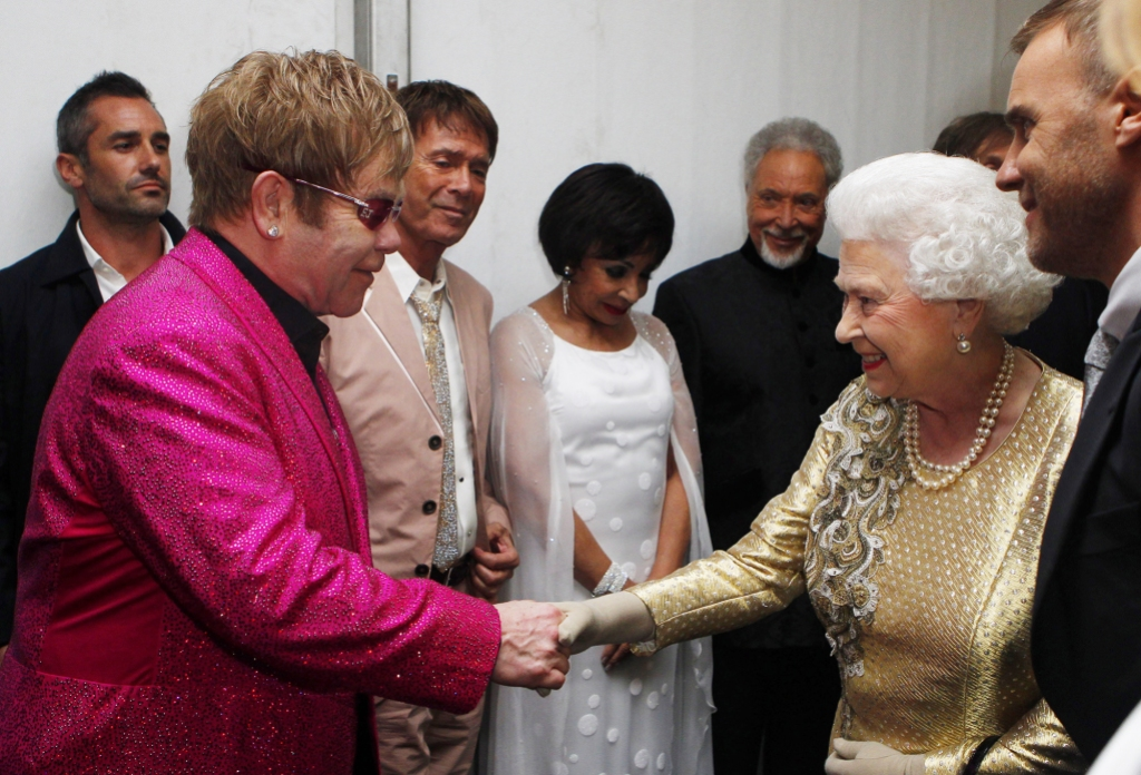 Elton John Claims Queen Slapped Nephew Front of Him