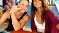 In-Set Photo of Larissa Dos Santos Lima Over Photo of Evelin Villegas and Corey Rathgeber