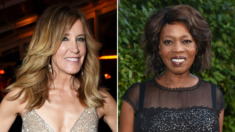 Felicity Huffman Has Support of Desperate Housewives Costar Alfre