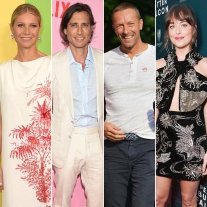 Gwyneth Paltrow Brad Falchuk Enjoy Being Together Chris Martin Dakota Johnson