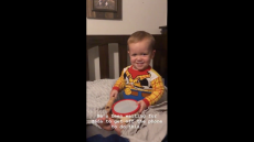 Jackson Roloff Plays the Drums on Instagram