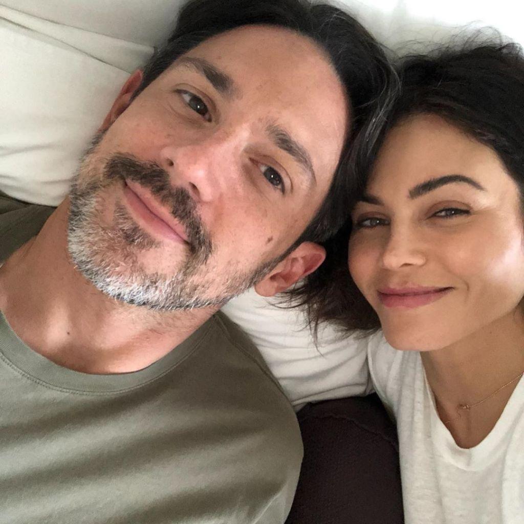 Steve Kazee and Jenna Dewan Snap a Selfie in Bed
