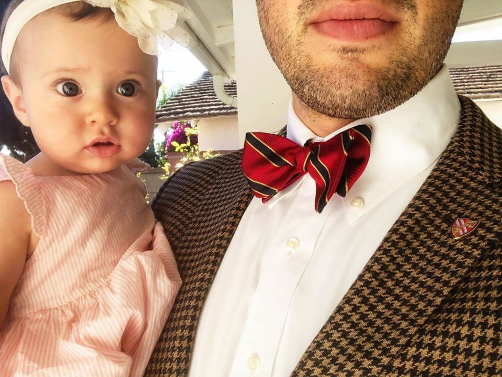 Jeremy Vuolo Selfie With Daughter Felicity