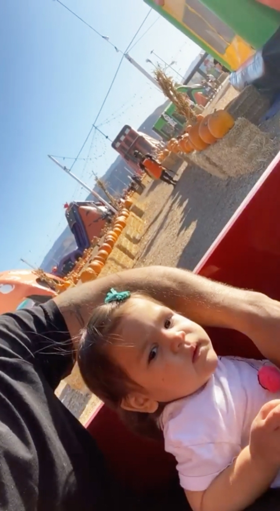 Jersey Shore Ronnie Ortiz Magro Spends Day Daughter