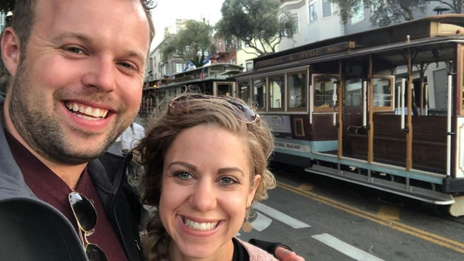 John David Duggar and Abbie Grace Burnett Take Selfie in San Francisco