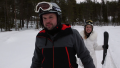 John David and Abbie in the Snow on Counting On