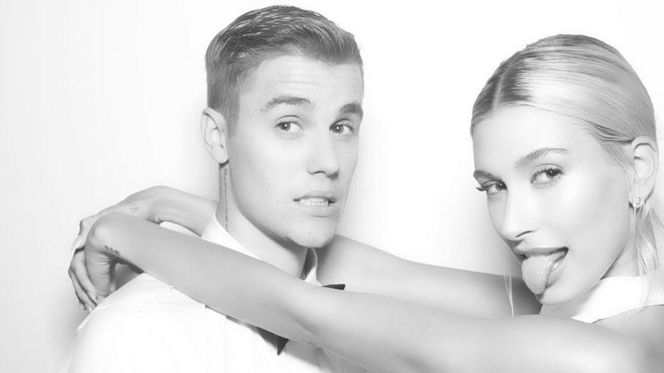 Justin Bieber and Wife Hailey Baldwin at Wedding