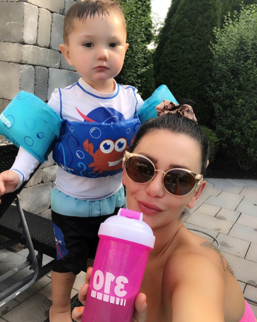 JWoww Gives Update on Greyson's Therapy and Reveals What Treats He Receives After Completing a Task