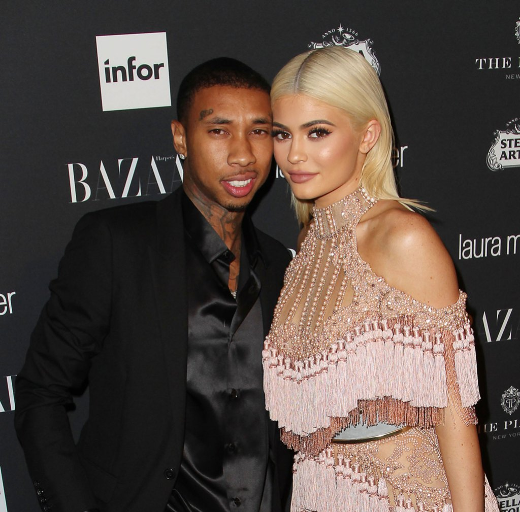 Tyga and Kylie Jenner - Harper's Bazaar Celebrates ICONS party, New York Fashion Week