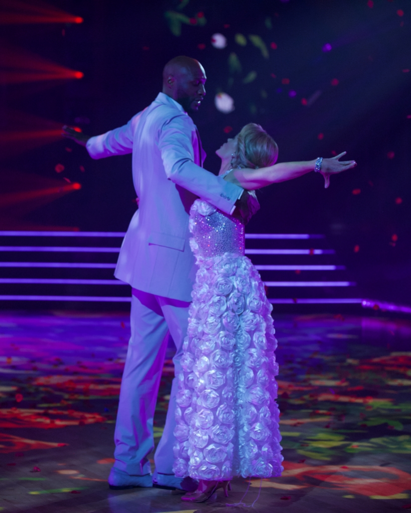 Lamar Odom Dancing With Peta on DWTS