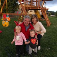 Matt Roloff, Caryn Chandler, Ember and Jackson