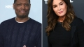 Side-by-Side Photos of Michael Che and Caitlyn Jenner