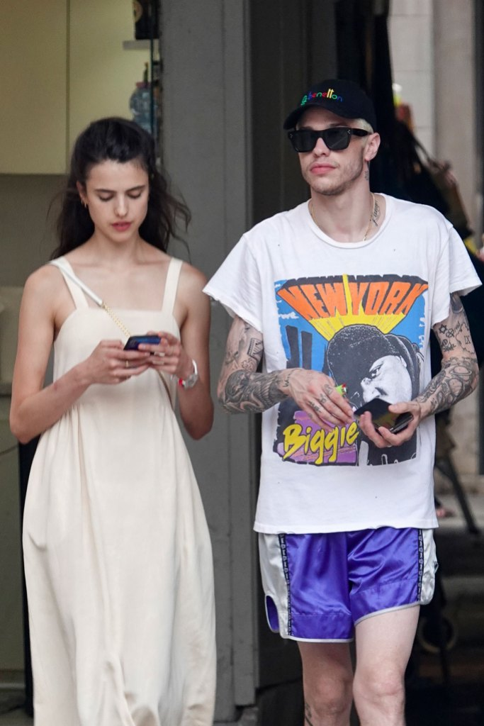Pete Davidson and Kaia Gerber 'Weren't Touchy At All' During Night Out in SoHo: 'They Were Just Happy'