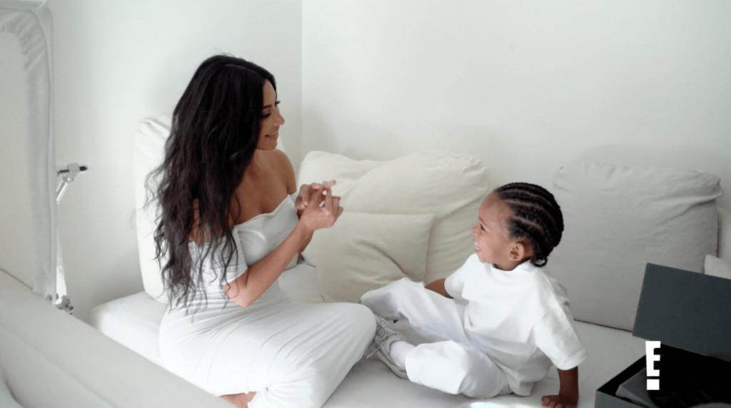 Saint West Pretend Proposes to Mom Kim Kardashian