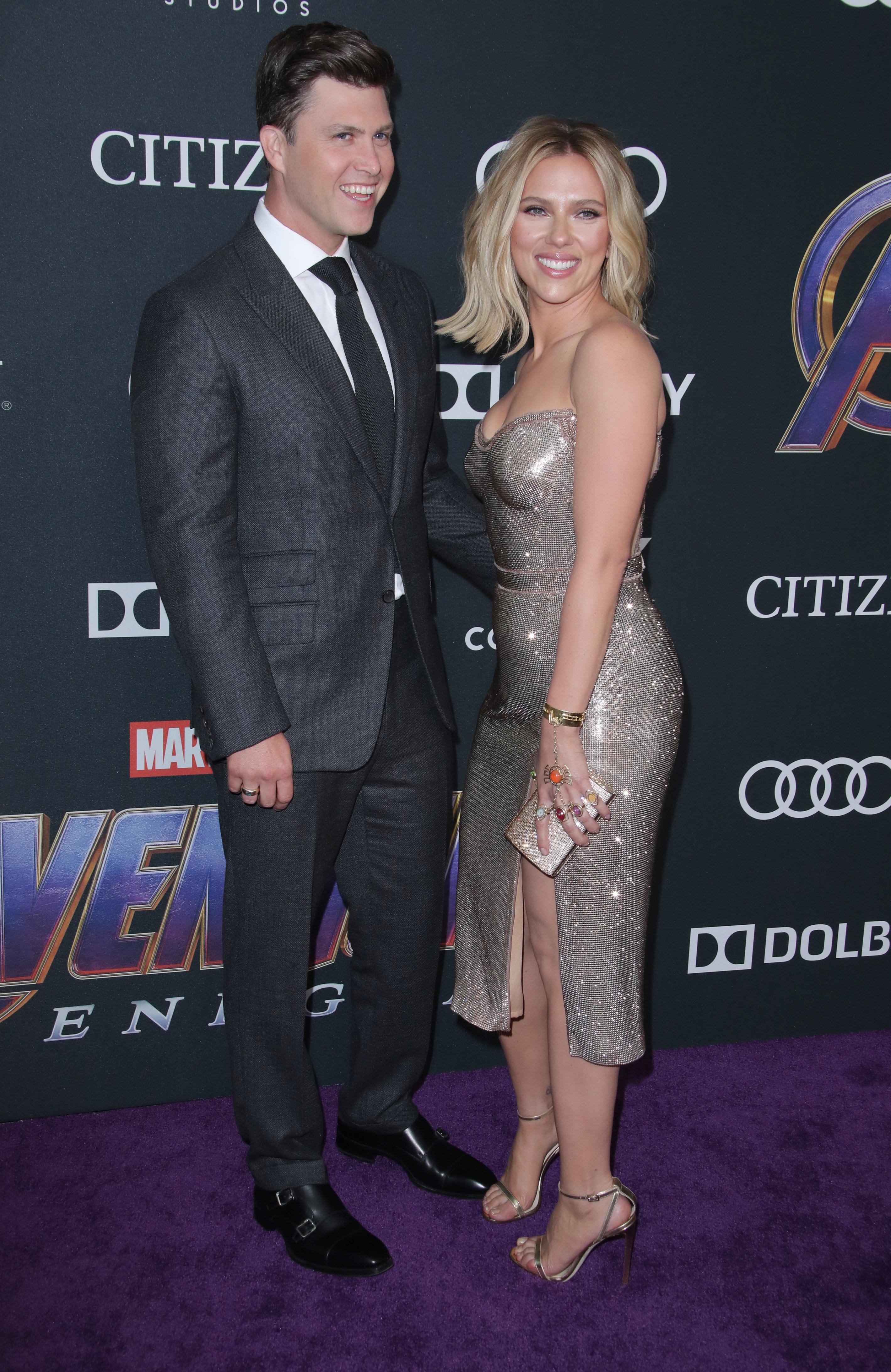 Scarlett Johansson Says Fiance Colin Jost S Proposal Was Surprising