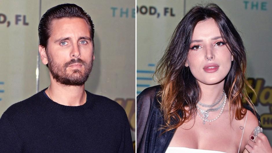 Scott Disick Avoided Ex Bella Thorne Hard Rock Hotel Event