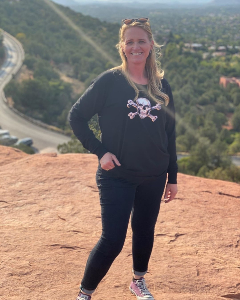 'Sister Wives' Star Christine Brown Flaunts Weight Loss While in Sedona With Her 'Favorite People'