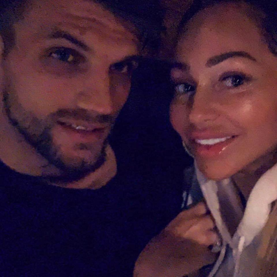 Stacey Silva and Florian Sukaj Selfies