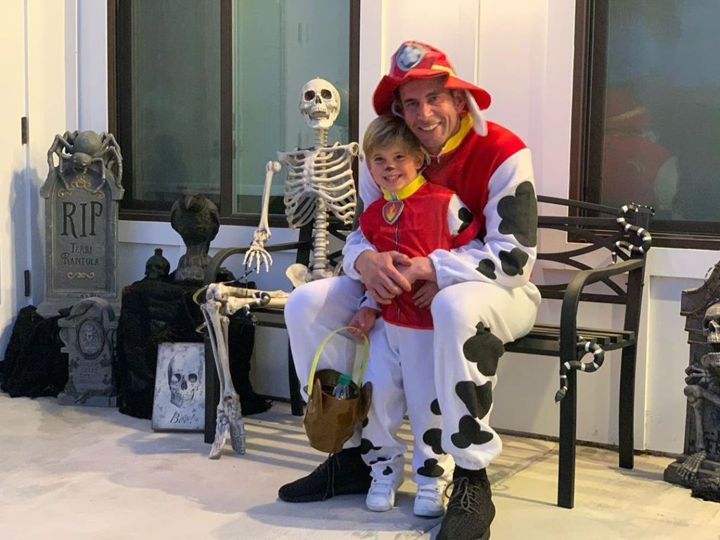 Tarek El Moussa Halloween Costume — 'Paw Patrol'