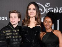 Angelina Jolie Had a Blast with Daughters Shiloh and Sahara at Her Maleficent: Mistress of Evil Premiere in Rome