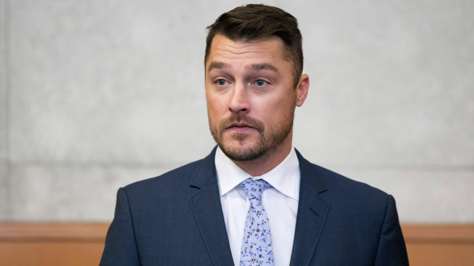 chris soules at hearing in blue suit