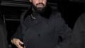 drake wears all black ensemble rapper drake shares rare photo of his son adonis' birthday party