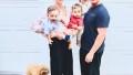 meghan king edmonds and jim edmonds post for cute family photo
