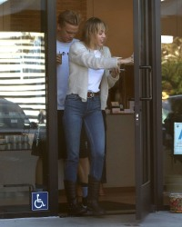 Aww! Miley Cyrus and Boyfriend Cody Simpson Spotted Looking Lovey Dovey on a Cute Coffee Date