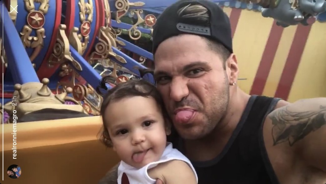 Ronnie Ortiz-Magro Says He'll 'Always Be There' for Daughter Ariana Despite Protective Order