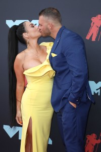 MTV VMAs 2019 - Red Carpet Arrivals, New Jersey, USA - 26 Aug 2019 JWoww Drama With Angelina on Jersey Shore