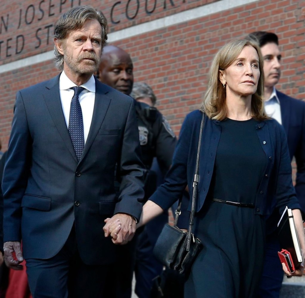 Felicity Huffman's Husband William H. Macy Is 'Holding the Family Together' As She Completes Prison Sentence