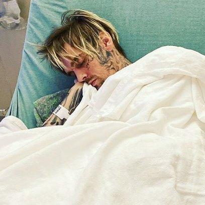 Aaron Carter Hospitalized Instagram Photo