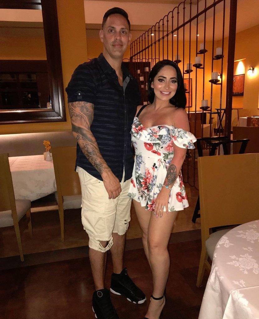 Angelina Pivarnick and Chris Larangeira Instagram