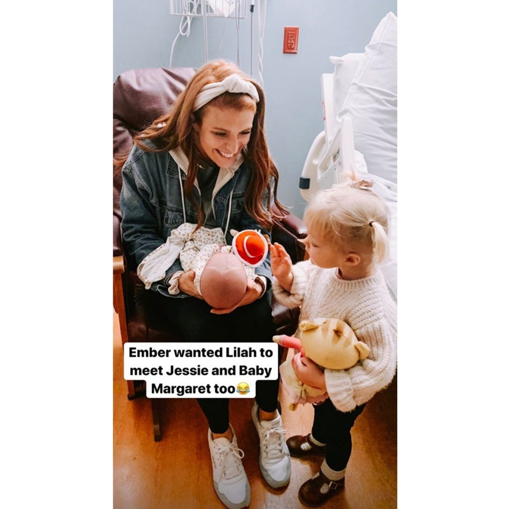Audrey Roloff Daughter Ember Just Wants to Hold and Kiss Cousin Lilah